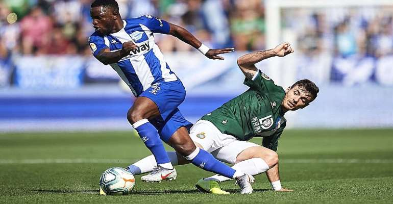 Mubarak Wakaso Stars In Deportivo Alaves Draw With Real Betis