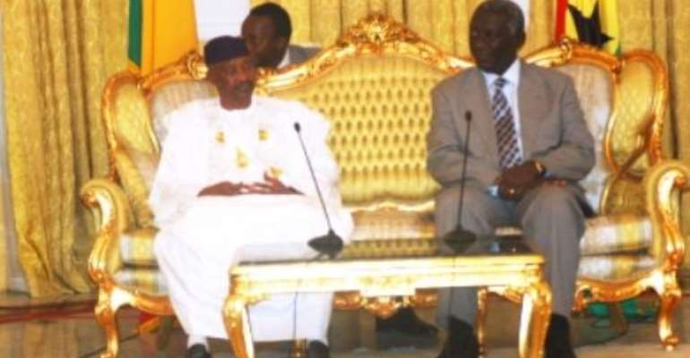 Malian President Arrives In Ghana For Three - Day State Visit