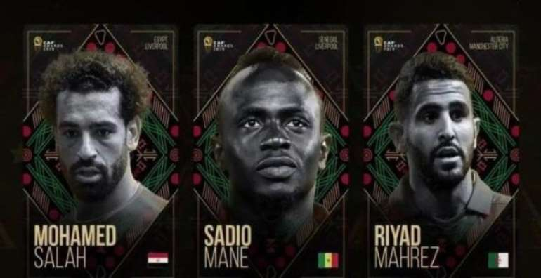 Mahrez, Mane And Salah In Contention For 2019 Caf Award