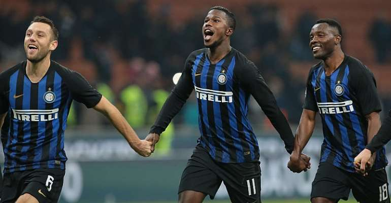 Kwadwo Asamoah Hails Inter Milan Teammates After First Win In 2020