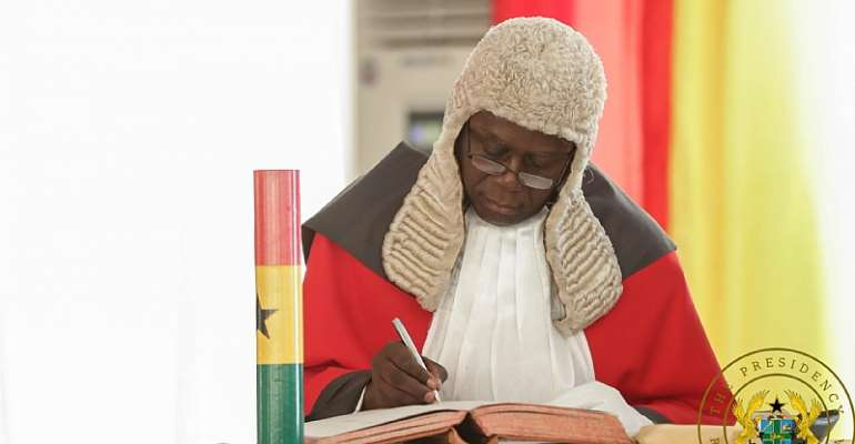 Malicious Allegation Against The Chief Justice