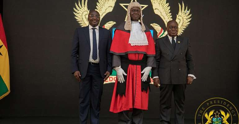 On Chief Justice Anin-Yeboah: Simply too Facile to Be True