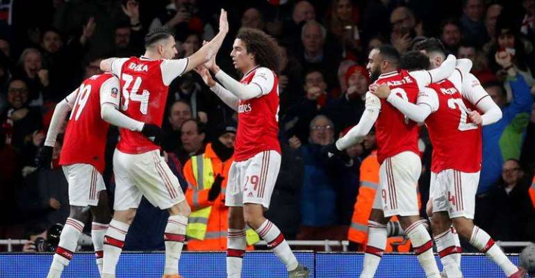 FA Cup: Arsenal Edge Past Leeds In FA Cup Third Round
