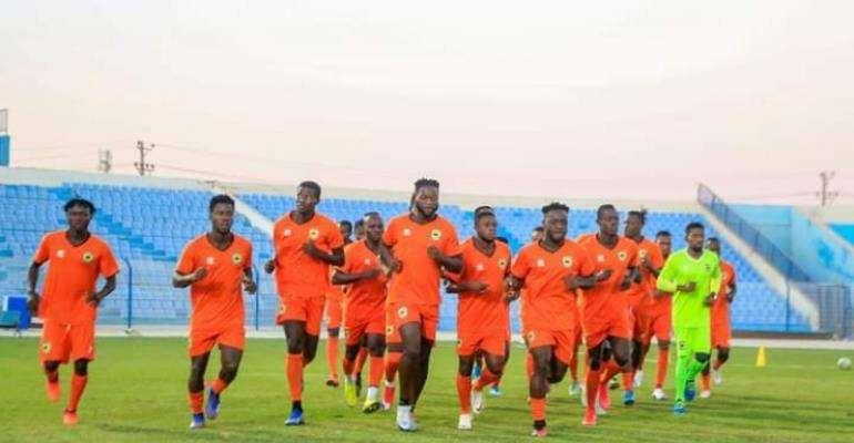 Asante Kotoko players training