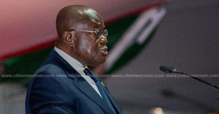 Akufo-Addo congratulates Bagbin on election as new Speaker of Parliament