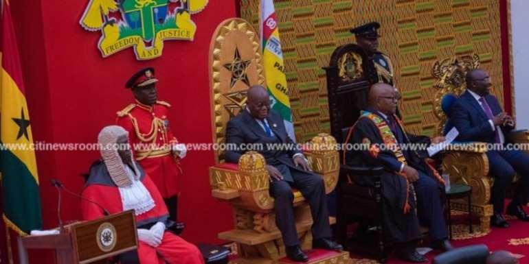 [Full speech] Akufo-Addo's swearing-in address