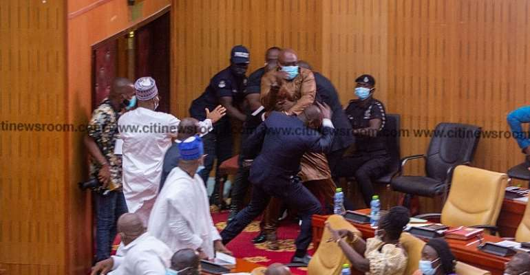 SJMG Press Statement On The Recent Display Of Thuggery In Ghana's Parliament And Capitol Hill (Washington D.C.)