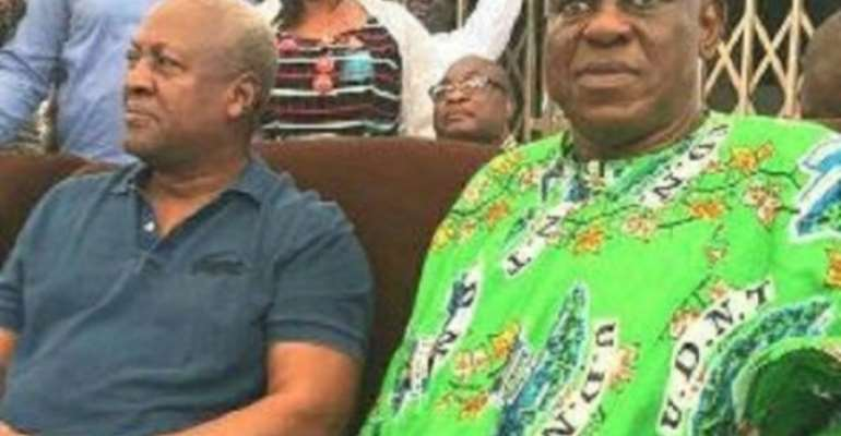 Why Mahama Missed Alhaji Bature's Burial Service