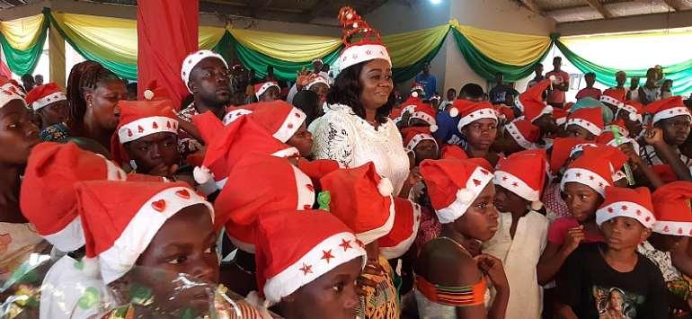 Prestea-Huni Valley MP Celebrate Christmas With Children