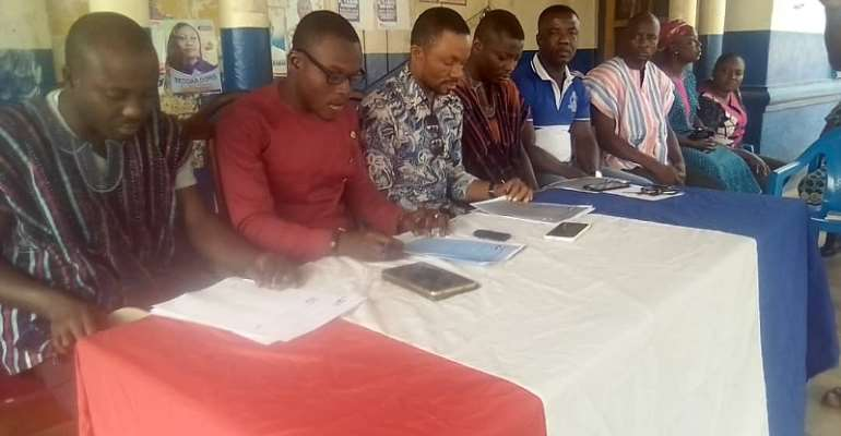 Sunyani West MCE Destroying NPP – Concerned Group Of NPP