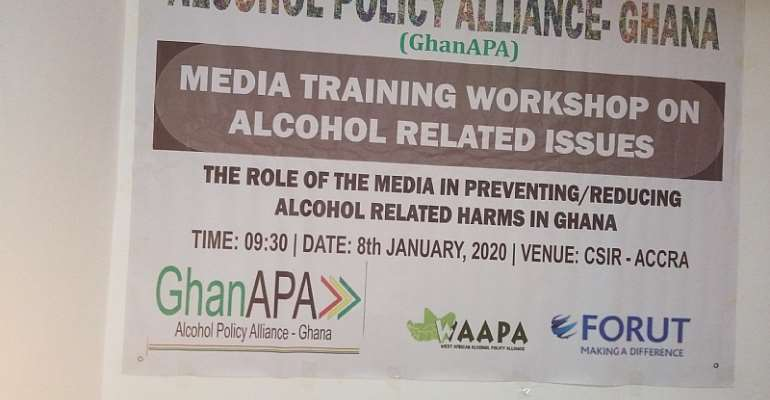 Media Training Workshop On Alcohol Related Issues Held