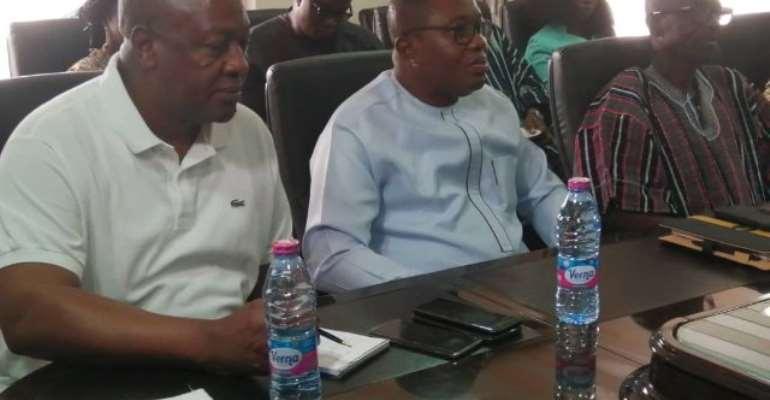 Mahama Laments Rising Fake News In Ghana