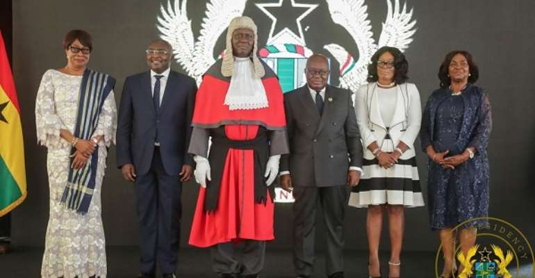 Ghana Gets New Chief Justice: