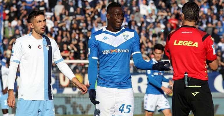 Lazio Fined For Balotelli Racist Abuse