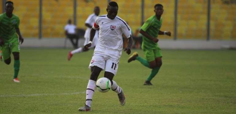 GHPL: Victorien Adebayor's Qualities Excites Inter Allies Coach Tonny Lokko