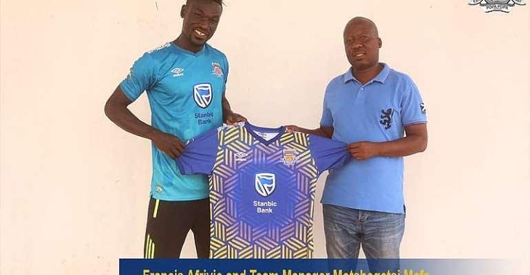Former Bechem United Striker Francis Afriyie Joins Township Rollers
