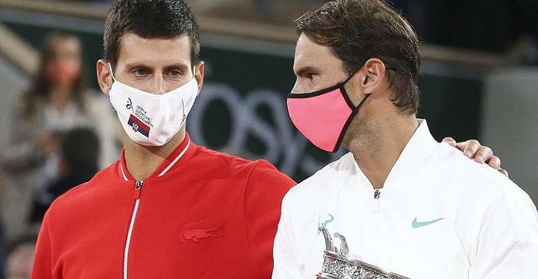 Novak Djokovic and Rafael Nadal  Image credit: Getty Images