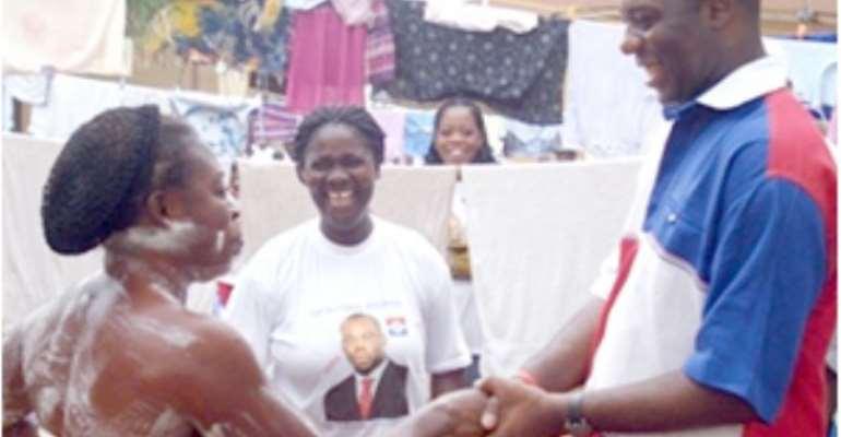 NPP Sends Woman Wild