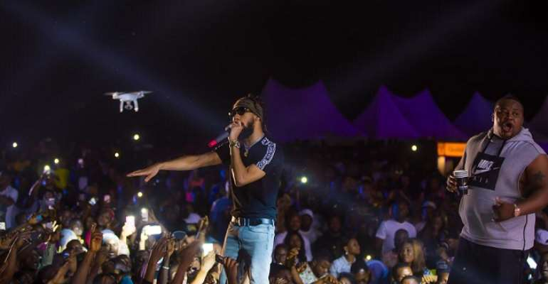 Phyno, Kcee, The Bull, Humble Smith, Bracket, Others Light Up Ojoto