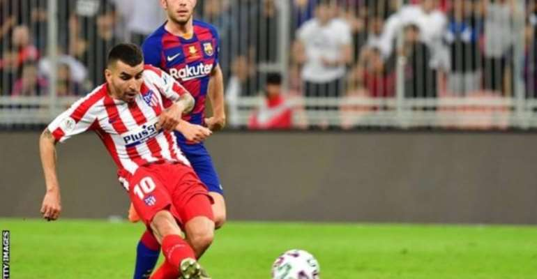 Atletico Fight Back To Beat Barca And Reach Super Cup Final