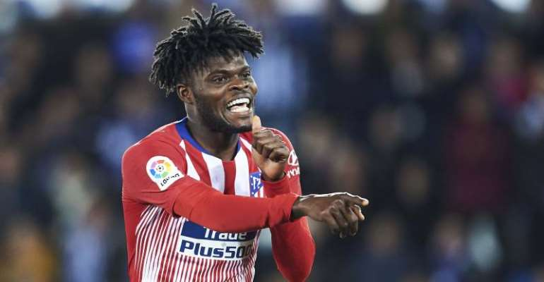Thomas Partey In Talks With Athletico Madrid Over Contract Renewal