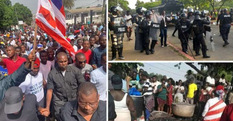 NDC Condemns Liberian Police Brutality Against Peaceful Protesters