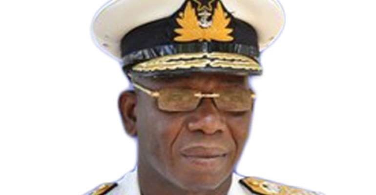 The late Vice Admiral Quarshie