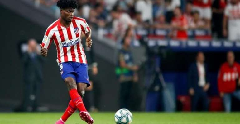 Thomas Partey Unperturbed About Atletico Madrid Future Amid Transfer Speculations