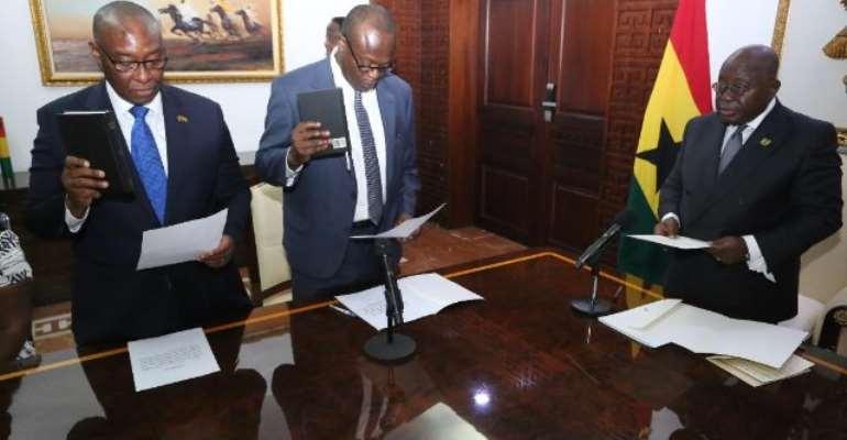 Akufo-Addo Presents Credentials To Libya, Niger Envoys