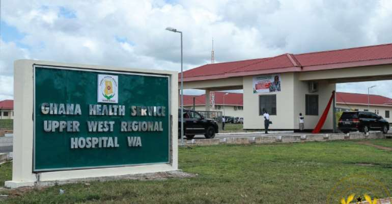 Upper West Regional Hospital To Be Opened Today