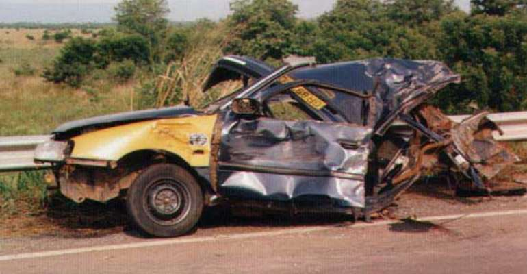 Ashanti Region Tops in Road Accident