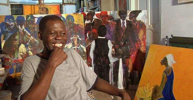 Larry Otoo: The Black Stars of Ghana - Art District