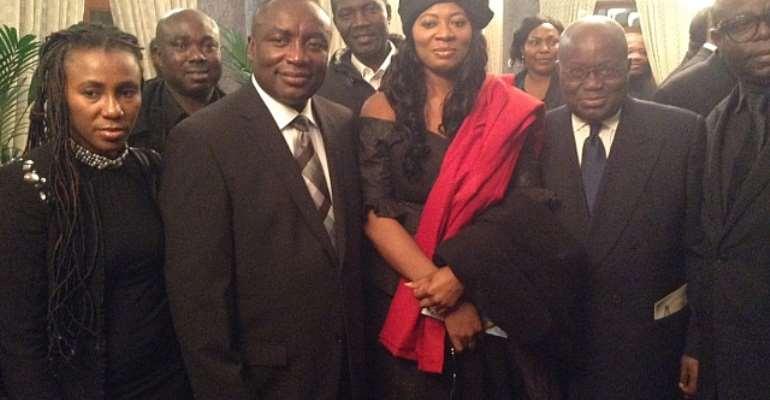 Akufo-Addo Commiserates With Kwabena Agyepong