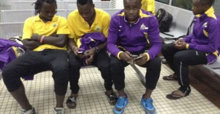 Ex. Kotoko Attacker Helegbe Leads Medeama Attack Against FC Panthers