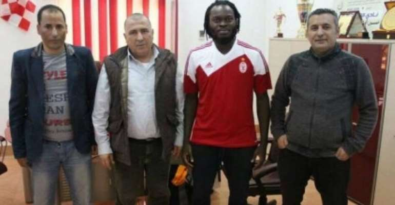 Yahaya Mohammed Signs For Libyan Side Ittihad Tripoli