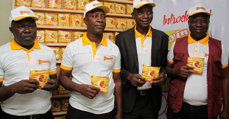 Doyin Investment Launches Instant Noodles