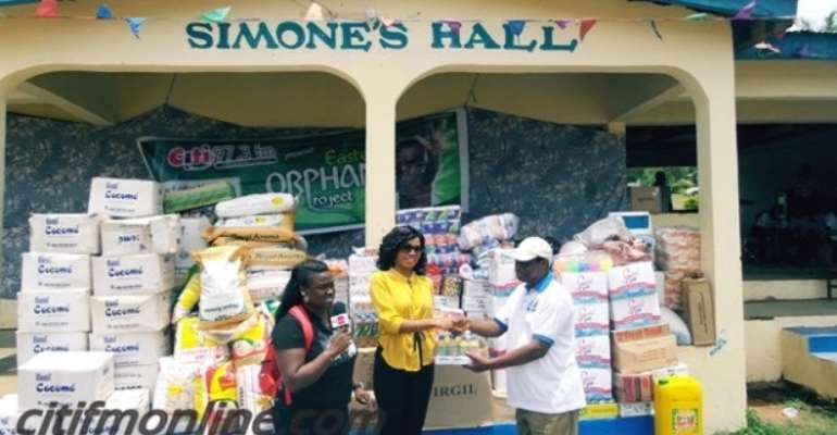 Citi FM Foundation Donates To Four Orphanages