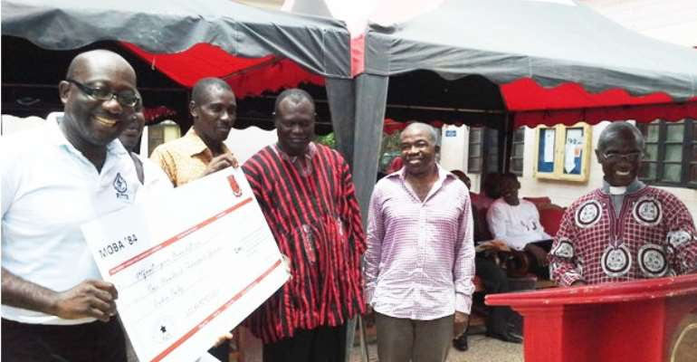 MOBA 1984 Gives GH¢100,000.00 For Dispensary Expansion