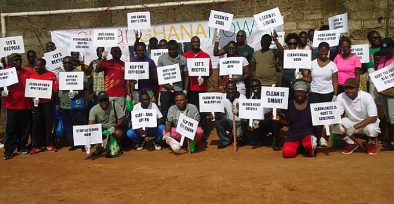 ''Clean Ghana Now'' Demonstration Hits Accra