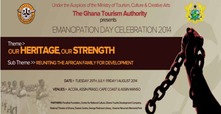 GTA Prepares For Emancipation Day Celebration 2014