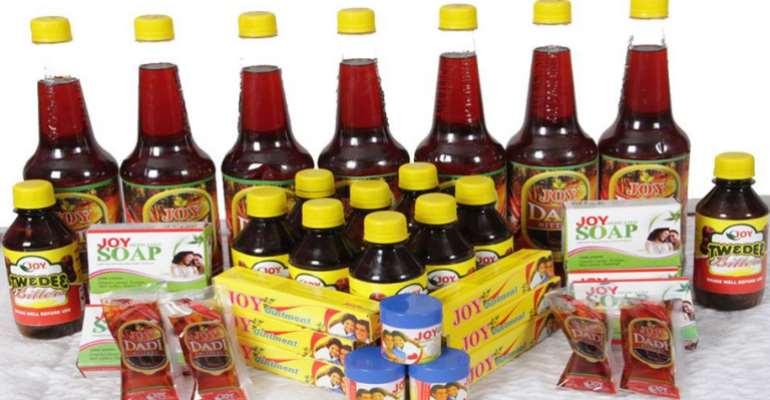 Minister Endorses Joy Dadi Bitters