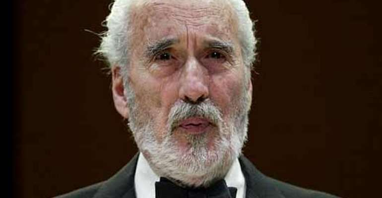 Christopher Lee dies at the age of 93