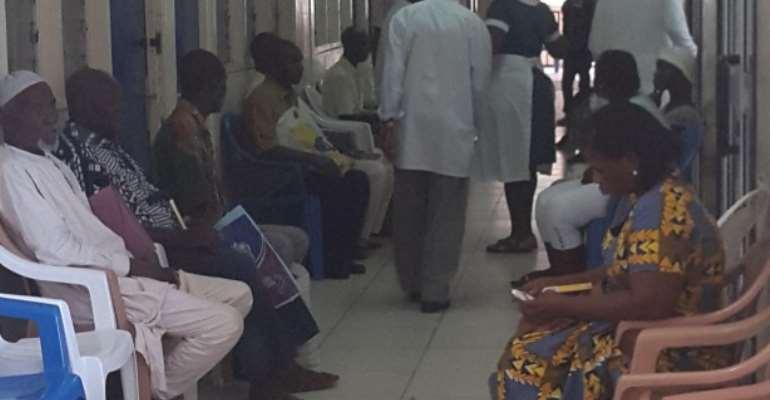 Doctors Return To Wards