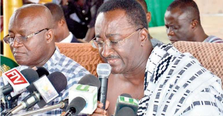 Agric Is Stagnant …Says NPP Minority