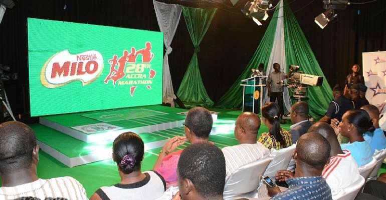 2015 Milo Marathon Launched In Accra...As 28th Edition Comes Alive