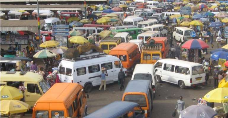 Trotro Drivers On Strike