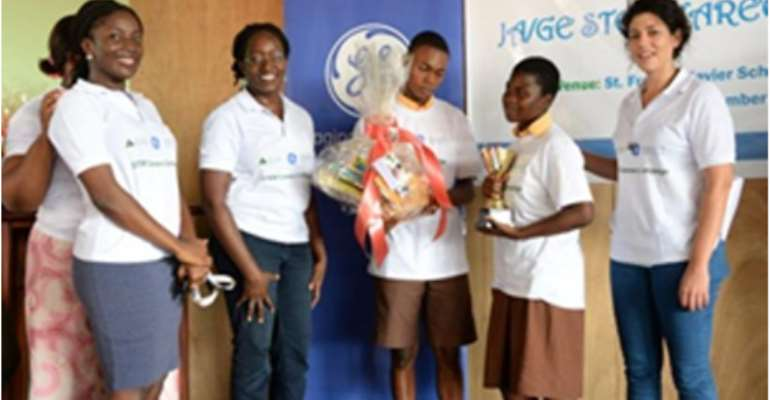 GE, Google, Points Of Light And Junior Achievement Africa Launch STEM Careers Awareness Campaign In Ghana