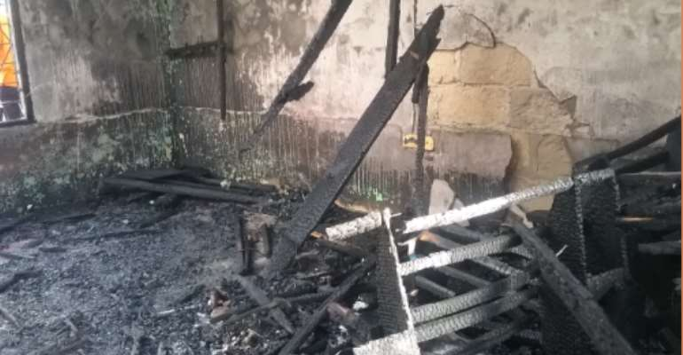 7 People Burnt To Death At Asante Mampong