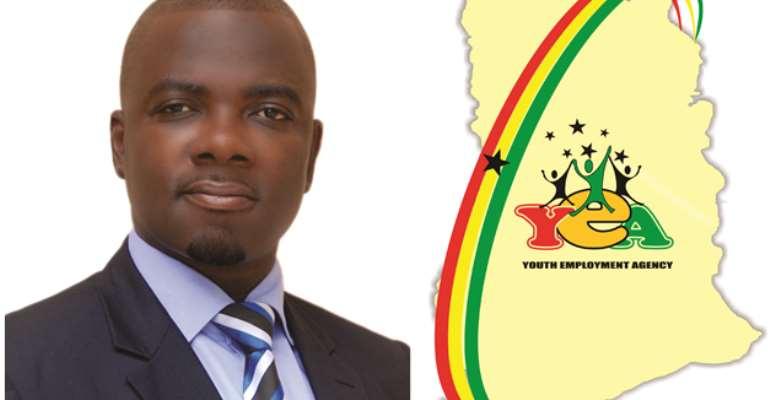 Mr Nii Tan Sackey, Accra Metro YEA, Durector