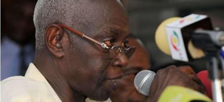 Afari-Gyan: Biometric registration for 2012 elections